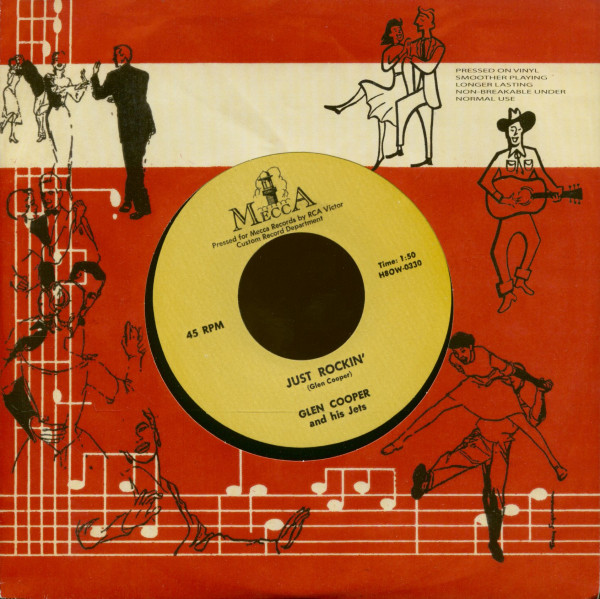 Just Rockin' - These Blues Are Driving (7inch, 45rpm)