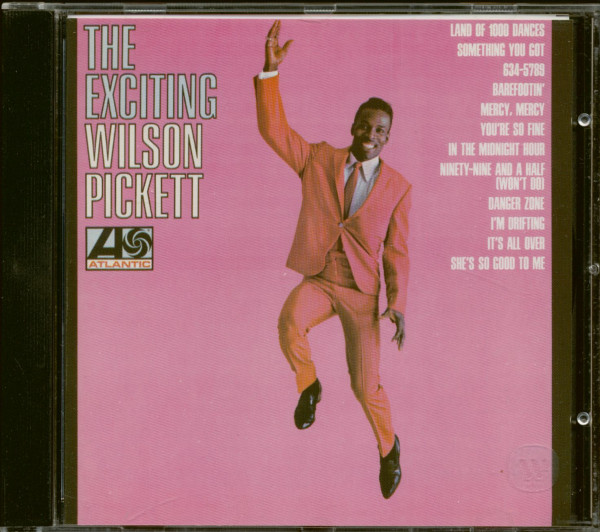 The Exciting Wilson Pickett (CD)