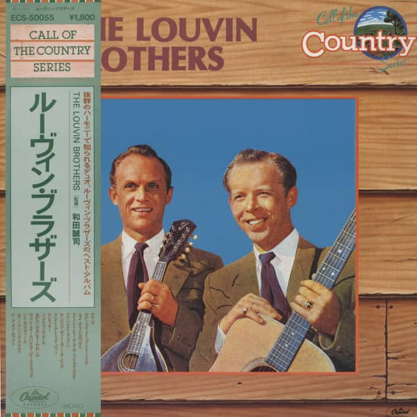 Call Of The Country -The Louvin Brotheres (Japan Vinyl-LP)
