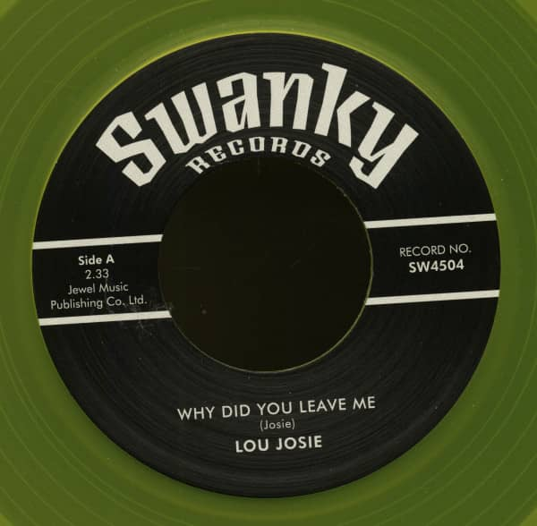 Why Did You Leave Me - Pretty Linda - Swanky DJ Series (7inch, 45rpm, BC)