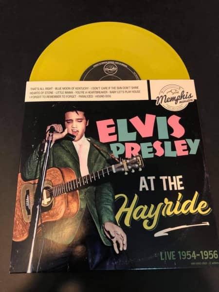Elvis Presley At The Hayride - Live 1954-1956 (LP, 10inch, Yellow, Ltd.)