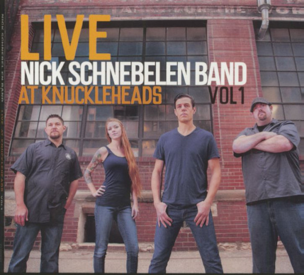 Live At Knuckleheads Vol.1 (CD)
