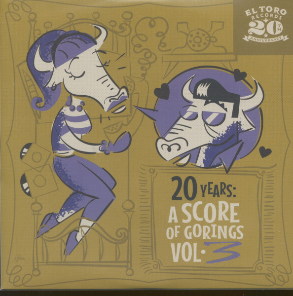 20 Years - A Score Of Gorings, Vol.3 (EP, 7inch, 33rpm, PS, sc)