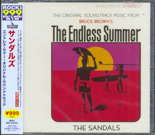 The Sandals Cd The Endless Summer Original Motion