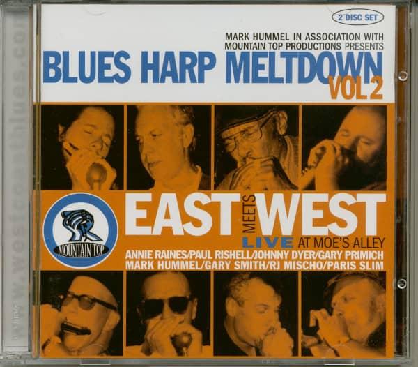 Blues Harp Meltdown Vol.2 (2-CD)