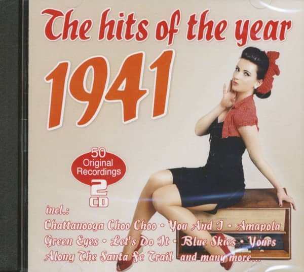 The Hits Of The Year 1941 - 50 Original Recordings (2-CD)