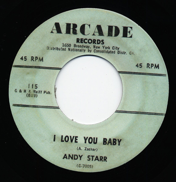 I Love You Baby - I Know It's True 7inch, 45rpm