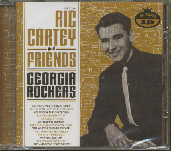 Ric Cartey & Friends - Georgia Rockers (CD)