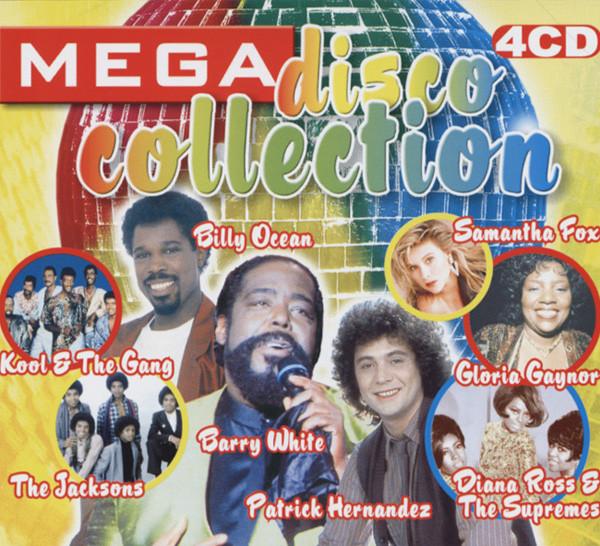 Mega Disco Collection 4-CD