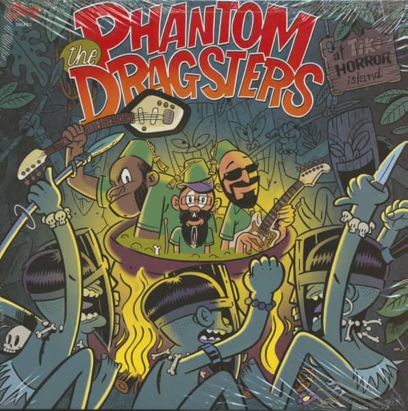 The Phantom Dragsters At Tiki Horror Island (LP)