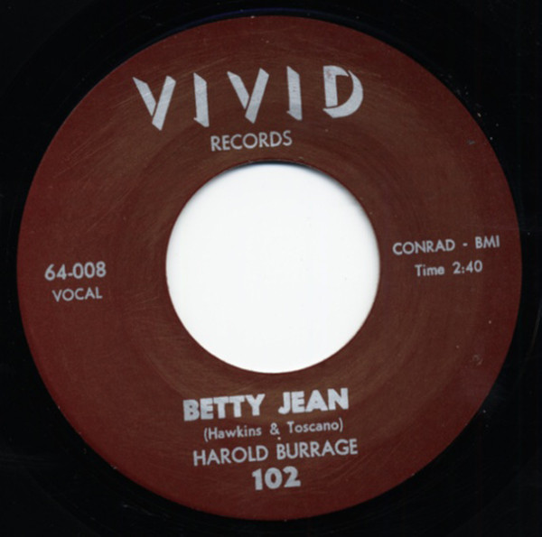 Betty Jean - I Cry For You 7inch, 45rpm