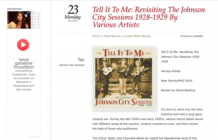 Presse-Archiv-Various-Artists-Tell-It-To-Me-The-Johnson-City-Sessions-Revisted-CD-cashboxmusicreviews