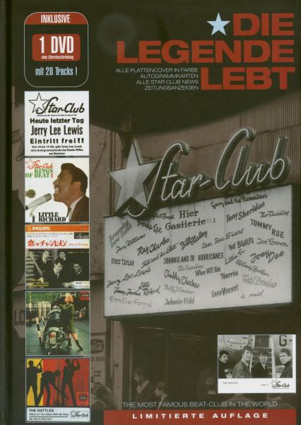 Star Club - Die Legende Lebt - Studio Hamburg - Radio Bremen (Buch & DVD) Limited Edition