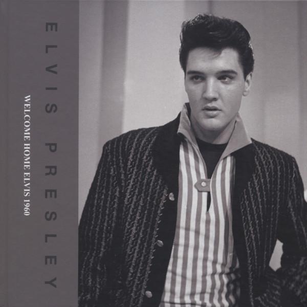 Elvis Presley Bücher/Books: Welcome Home Elvis 1960 (&CD