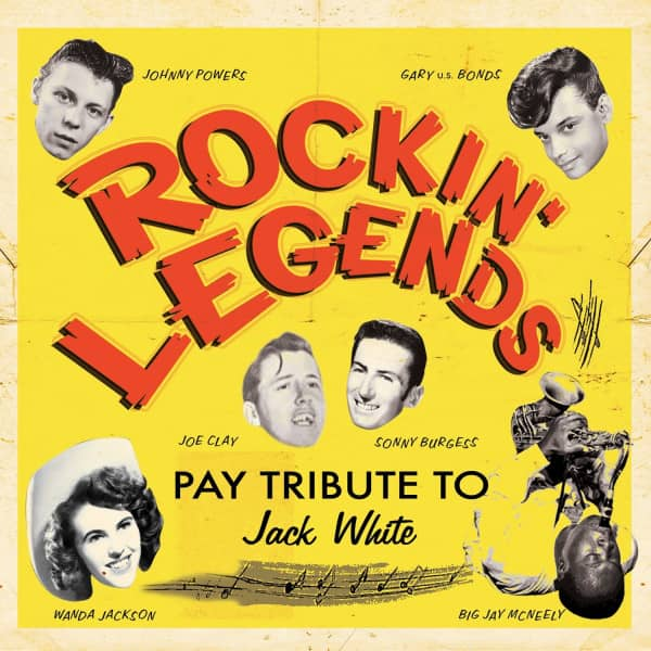 Rockin Legends Pay Tribute to Jack White (180g Vinyl LP)