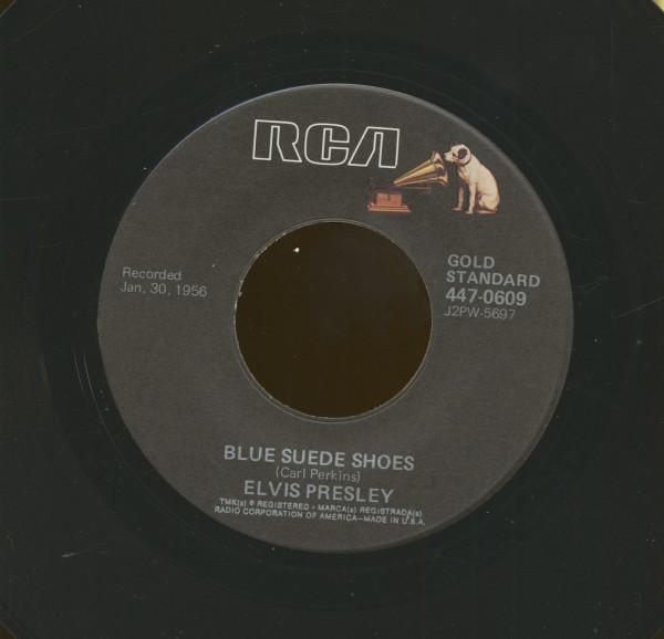 Blue Suede Shoes - Tutti Frutti (7inch, 45rpm)