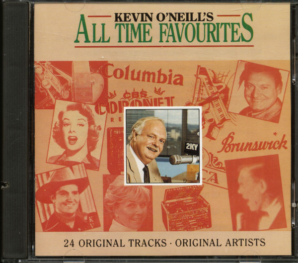 Kevin O'Neill's All Time Favourites, Vol.1 (CD)