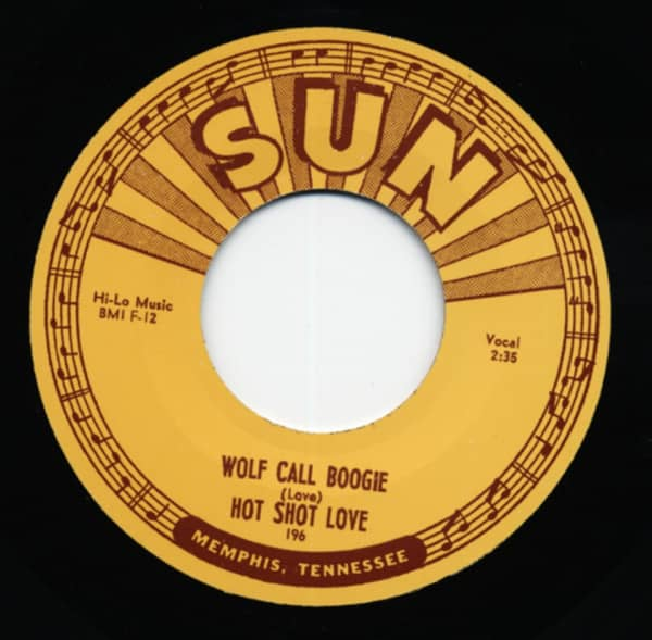 Wolf Call Boogie b-w Harmonica Jam 7inch, 45rpm