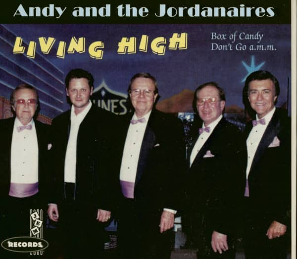 Andy And The Jordanaires - Living High (CD)