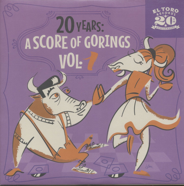 20 Years - A Score Of Gorings, Vol.1 (EP, 7inch, 33rpm, PS, sc)