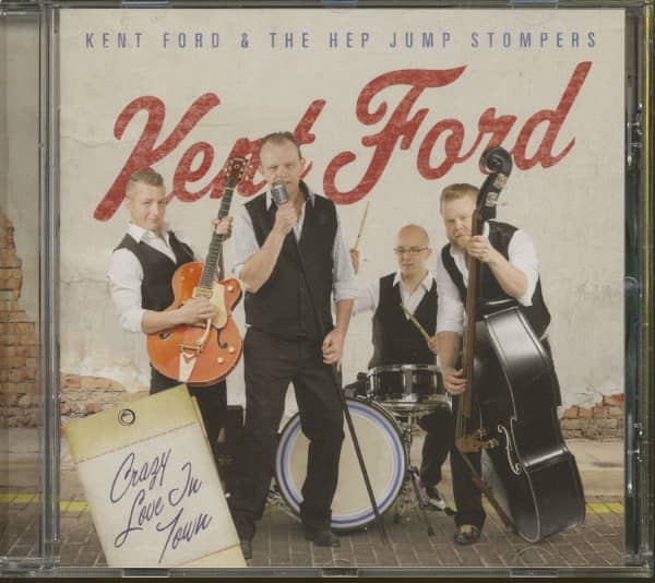 Crazy Love In Town (CD)