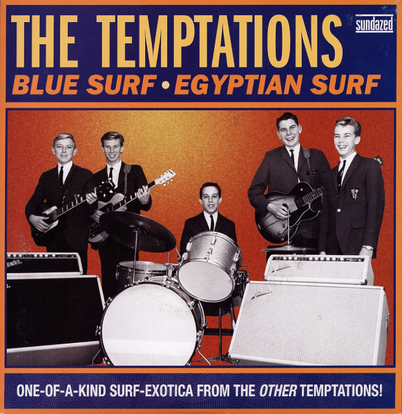 Blue Surf - Egyptian Surf 7inch, 45rpm, PS