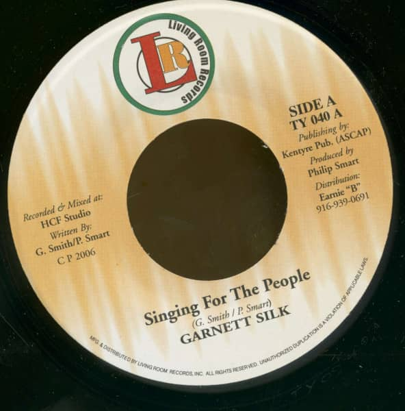 Singing For The People - Version (7inch, 45rpm, BC)