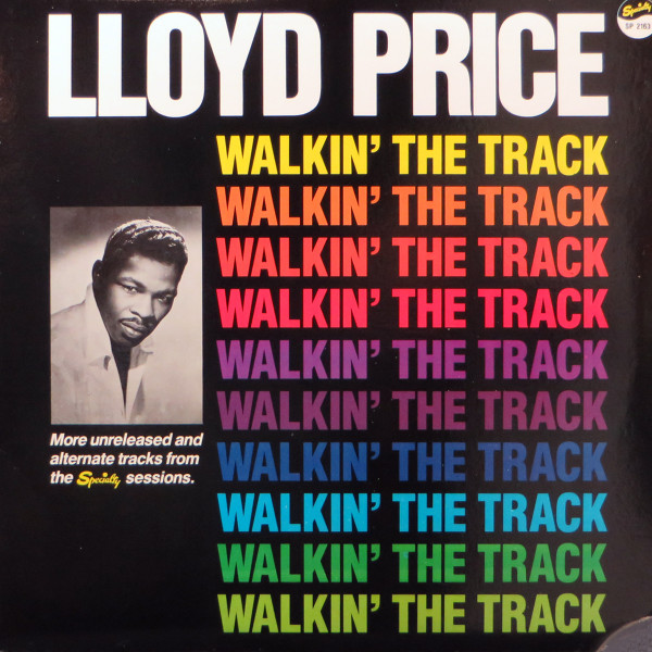 Walkin' The Track (more unreleased and alternate tracks from the Specialty sessions) Vinyl LP