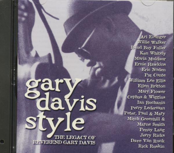 Gary Davis Style (CD, Cut-Out)