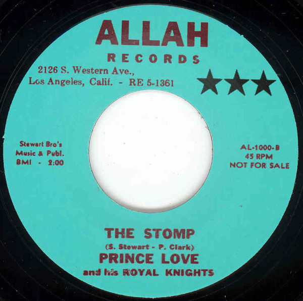 The Stomp b-w Don't Want No War 7inch, 45rpm