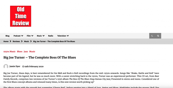 Press-Archive-Big-Joe-Turner-The-Complete-Boss-Of-The-Blues-2-CD-Recordreview