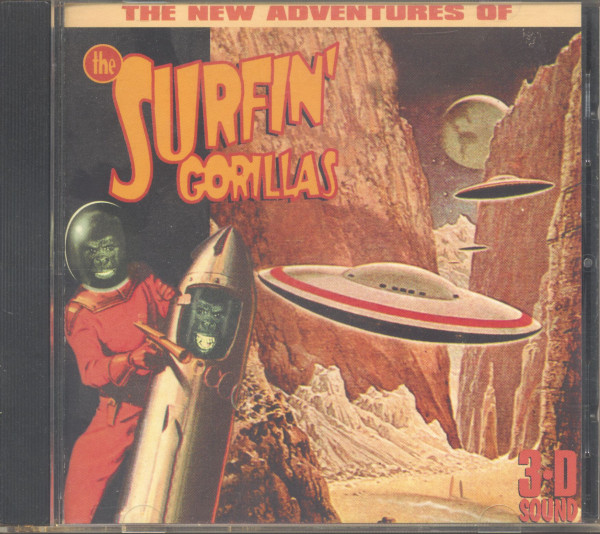 The New Adventures Of The Surfin' Gorillas (CD)