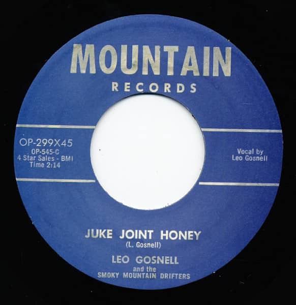 Juke Joint Honey - Woman Running Around 7inch, 45rpm