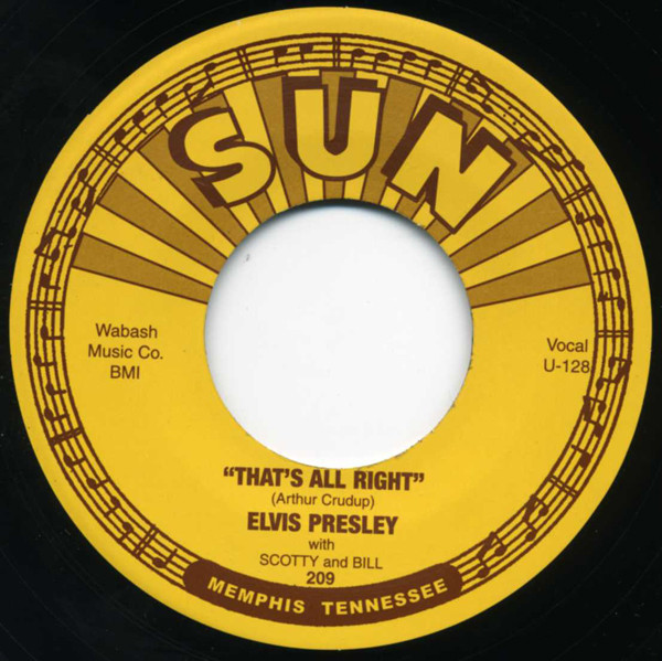 That's All Right - Blue Moon Of Kentucky 45rpm - company sleeve