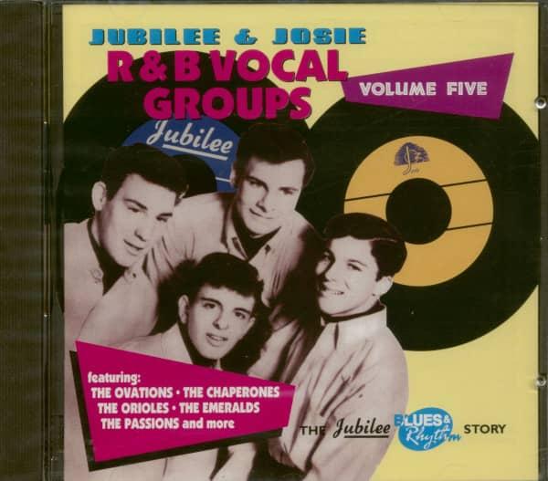 Jubilee & Josie Vocal Groups Vol.5
