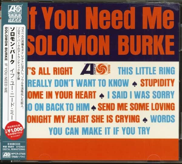 If You Need Me (CD, Japan)