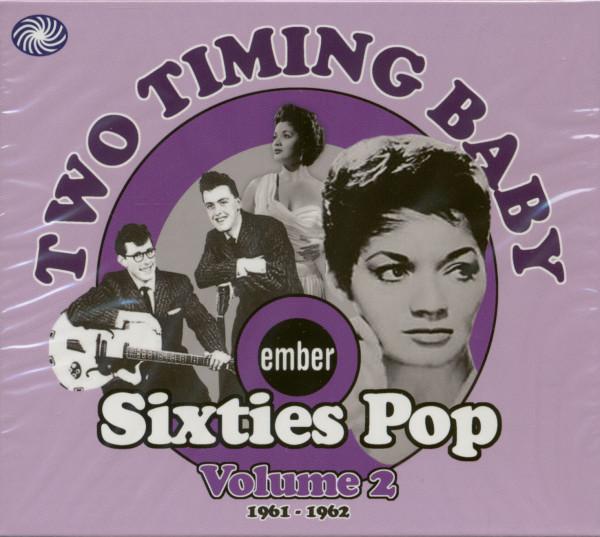 Two Timing Baby - Sixties Pop Volume 2 (CD)