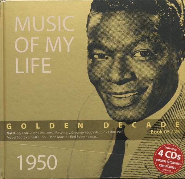 Golden Decade Vol.5 - 1950 (Book & 4-CD)