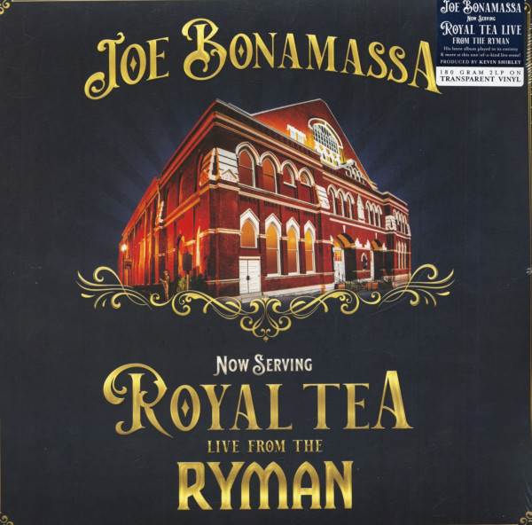 Now Serving: Royal Tea Live From The Ryman (2-LP, 180g, Transparent Vinyl)