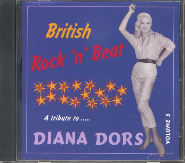 British Rock'n'Beat Vol.3 - A Tribute To Diana Dors (CD)