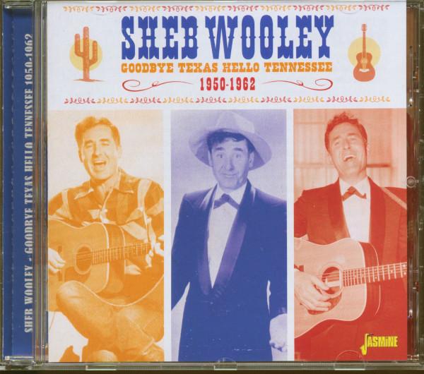 Goodbye Texas, Hello Tennessee - 1950-1962 (CD)
