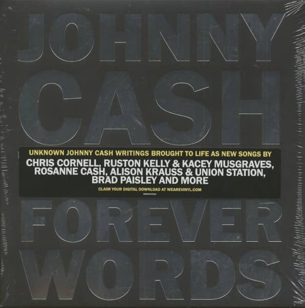 Johnny Cash The Music - Forever Words (2-LP)