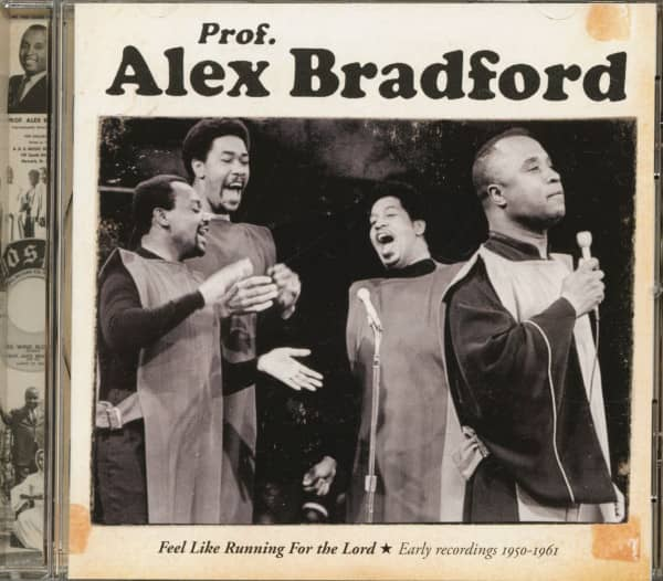 Feel Like Running For The Lord - Early Recordings 1950 - 1961 (CD)