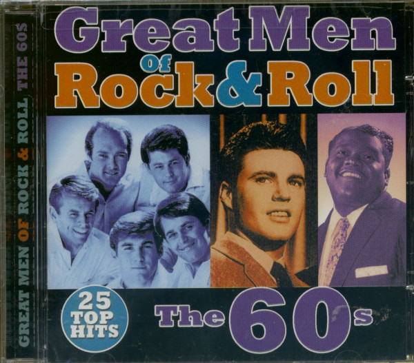 Great Men Of Rock & Roll - The 60s (CD)