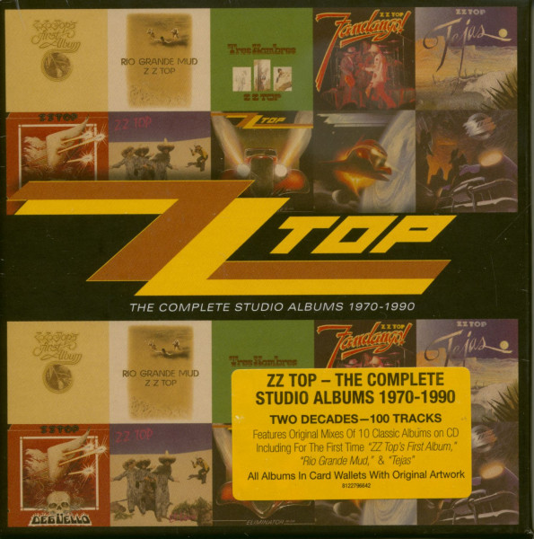 Complete Studio Album 1970-1990 (10-CD)