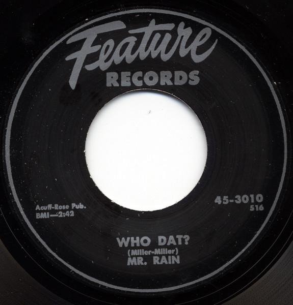 Mr. Rain - Lighting Slim 7inch, 45rpm