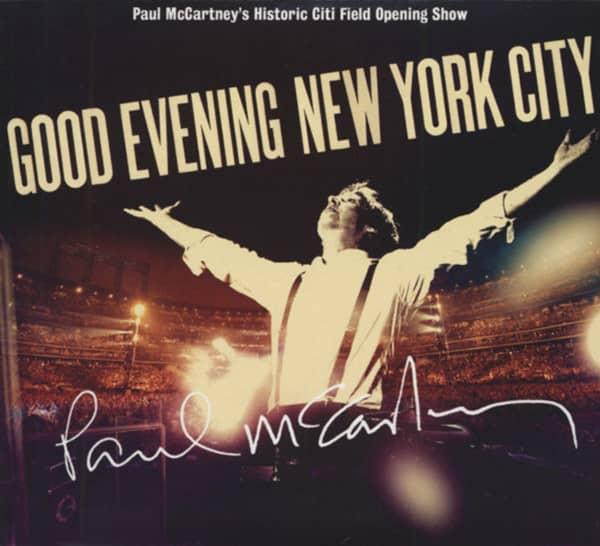 Good Evening New York City (2-CD-DVD Digipac)