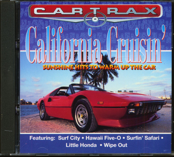 Car Trax - California Cruisin' (CD)