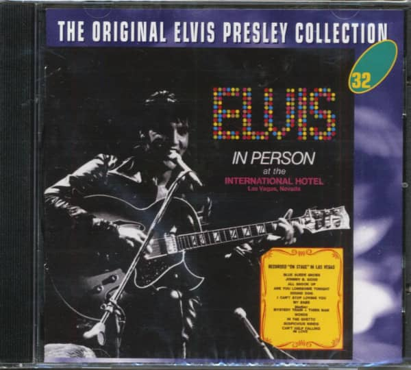 Elvis In Person At The International Hotel - The Original Collection #32 (CD)