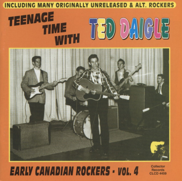 Vol.4, Early Canadian Rockers